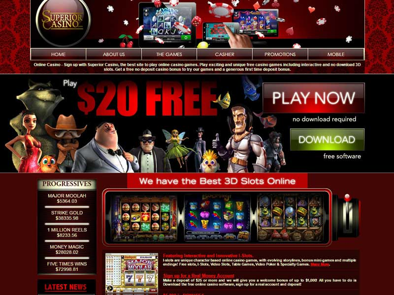 new online casino with no deposit